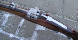 Puška systém Krnka, cal. 38 Special, replika