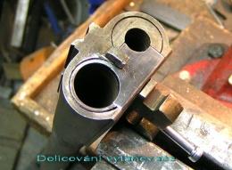 Výroba obojetnicových hlavňových svazků pro brokové dvojky Zbrojovka Brno typ ZP